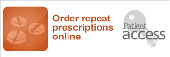 Patient Access - Click to order a repeat prescription